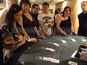 Blackjack with 'Kings & Queens Fun Casinos'